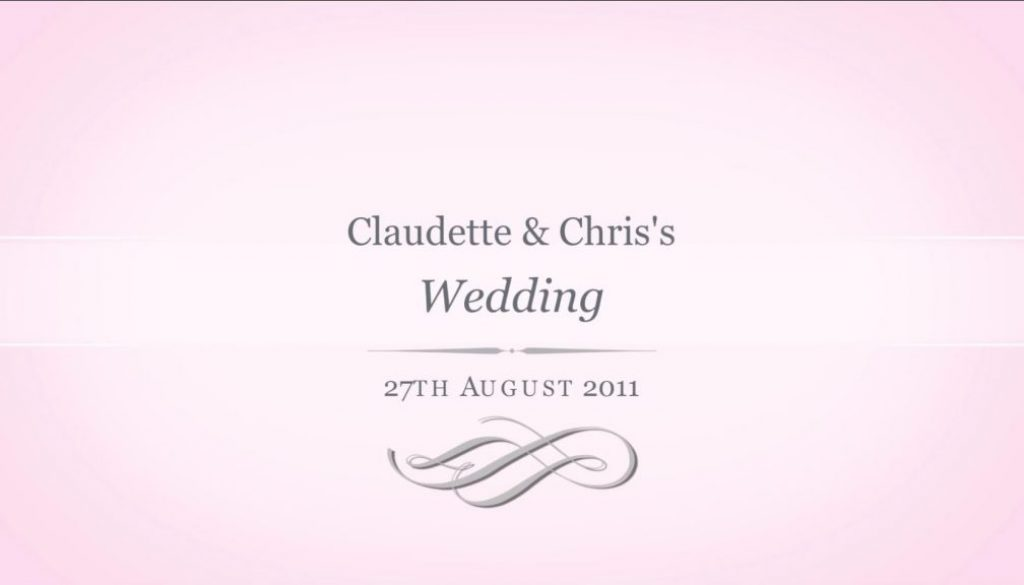 Claudette and Chris